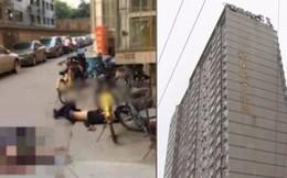 2 người qua đường chết tức tưởi khi bị người nhảy lầu tự tử rơi trúng đầu