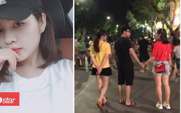 Sau clip 4 giây gây bão mạng, hot girl nắm tay trai lạ trên phố đi bộ nói gì?