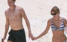 Taylor Swift lộ bụng ngày càng béo ra khi mặc bikini hẹn hò bên bạn trai