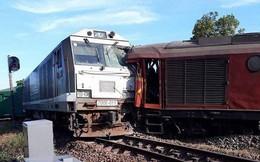Nhân viên quên bẻ ghi, 2 tàu hỏa suýt đâm nhau ở Nha Trang