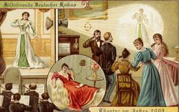 Năm 1900 người ta đã từng mơ tưởng về thế giới tương lai của năm 2000 ảo diệu đến thế này