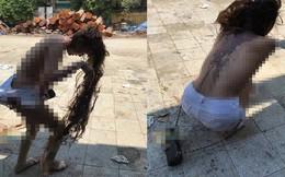Công an xuyên đêm tìm nhóm lột quần áo, đổ mắm tôm lên người cô gái có hình xăm trên lưng