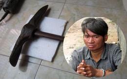Bị mắng vì về sớm không nấu cơm, chồng dùng cuốc đánh chết vợ