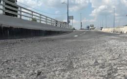 Cầu vượt 200 tỷ đồng ở TP.HCM vừa thông xe 1 ngày đã sụt lún, chủ đầu tư nói gì?