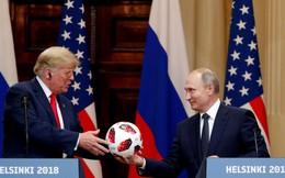 Chuyện gì xảy ra với quả bóng ông Putin tặng ông Trump?