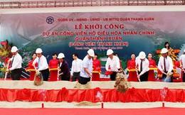 """Công viên trăm tỷ ở Hà Nội vẫn """"đắp chiếu"""", vì sao?"""