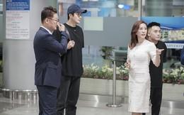 """Hoa hậu Thu Hoài ra tận sân bay đón tài tử """"Nấc thang lên thiên đường"""" Kwon Sang Woo"""
