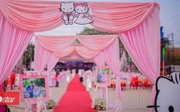 Trở về tuổi thơ với đám cưới Hello Kitty của cặp đôi 9X