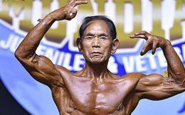Cụ ông 81 tuổi cơ bắp cuồn cuộn như Phạm Văn Mách