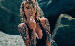 Người mẫu áo tắm hot nhất nước Úc khoe hình xăm cực chất
