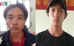 Hai đối tượng gây rối phá hoại tài sản công ở Phan Rí ra đầu thú