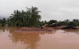 """[VIDEO] Cả ngôi làng bị nước """"nuốt chửng"""" sau khi vỡ đập thủy điện Lào"""
