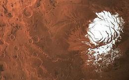 [TIN NÓNG] Phát hiện ra dấu vết của một hồ nước khổng lồ rộng 20 km dưới lớp băng trên Sao Hỏa