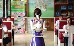 24h qua ảnh: Robot phục vụ đồ ăn cho thực khách tại nhà hàng Trung Quốc