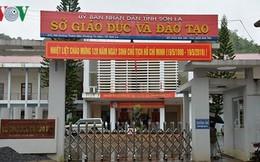 Cần minh bạch 42 bài thi có điểm cao bất thường ở Sơn La