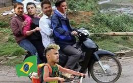 """Không lên xe về cùng Ronaldo và Messi, Neymar ở lại Nga giật """"tượng vàng Oscar"""""""