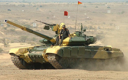 Dàn trận gần 500 xe tăng T-90MS dọc biên giới Trung Quốc, Ấn Độ toan tính gì?
