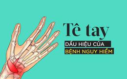 Bị tê tay vào ban đêm là dấu hiệu cảnh báo hội chứng ống cổ tay rất nguy hiểm
