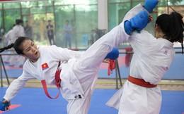 Các nữ võ sĩ Karate Việt Nam miệt mài tập luyện, sẵn sàng tranh tài tại Asiad 2018