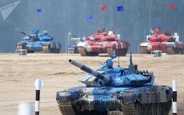 Hình ảnh cuộc đua xe tăng Tank Biathlon tại Hội thao Army Games 2018