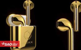 Ngắm tai nghe AirPods sang chảnh phiên bản vàng 24K, giá 232 triệu đồng