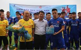 Món quà bất ngờ dành cho các cầu thủ U23 Việt Nam trước thềm giải Tứ hùng