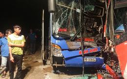 2 xe khách đối đầu ở Quảng Nam, hàng chục người thoát chết
