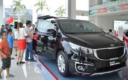 Doanh số tiêu thụ ô tô thấp nhất trong 3 năm gần đây