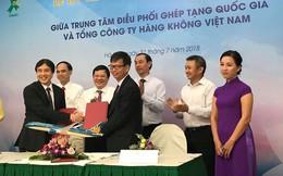Việt Nam là nước đầu tiên sử dụng hàng không dân dụng để vận chuyển tạng