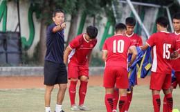 """Tích cực tập """"bắn"""", Việt Nam chuẩn bị trút cơn mưa bàn thắng vào lưới Lào?"""