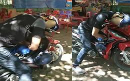 Nam thanh niên gục chết trên xe máy trước quán trà đá giữa trời nắng