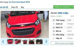Loạt xe ô tô Chevrolet giảm giá mạnh, giá chỉ từ 260 triệu đồng/chiếc tại Việt Nam