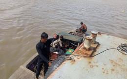 Tìm thấy thi thể thuyền trưởng và thuyền viên vụ tàu hàng tông sà lan trên sông Sài Gòn
