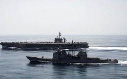 """Hải quân Mỹ sẽ """"động thủ"""" nếu Iran phong tỏa eo biển Hormuz"""