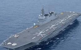 """Biển Đông: Tàu sân bay Nhật tiếp tục tuần tra, báo Trung Quốc đe dọa """"báo thù"""""""