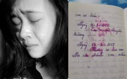 Sau khi con gái gặp tai nạn, bà mẹ ôm nhật ký bé để lại rồi khóc nức nở vì nội dung bên trong