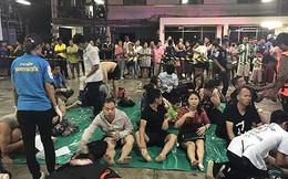 Chìm tàu du lịch ở Thái Lan: 41 người chết và 15 người mất tích