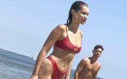 Bella Hadid khoe body nóng bỏng không kém cạnh Gigi, làm The Weeknd cũng thích mê