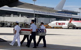 Việt Nam bàn giao hài cốt quân nhân Hoa Kỳ