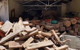 Kiểm lâm nói gì về số gỗ quý trong nhà trùm ma túy ở Lóng Luông?