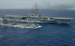 Hình ảnh tàu sân bay duy nhất của hải quân Brazil và châu Mỹ Latin