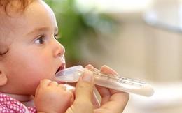 5 điều cần tránh khi cho con uống kháng sinh
