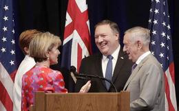 Nhật - Mỹ - Úc 'liên thủ' đối đầu Trung Quốc