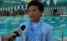 'Siêu nhân' 10 tuổi xô đổ kỷ lục của Michael Phelps