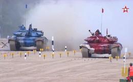 Tank Biathlon 2018:  Cháy lớn ở Thao trường Alabino, Trung Quốc xếp bét bảng ở chung kết
