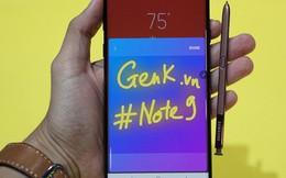 Ảnh thực tế Galaxy Note9 vừa mới ra mắt: Có những gì đỉnh hơn người tiền nhiệm Note8?