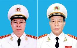 Bộ Công an bổ nhiệm hai Thứ trưởng làm Thủ trưởng Cơ quan điều tra