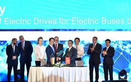 VinFast bắt tay Siemens, sản xuất xe buýt điện