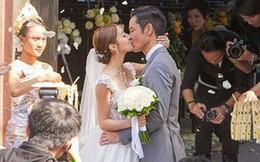 Đám cưới hot nhất Cbiz hôm nay: Trịnh Gia Dĩnh trao nụ hôn ngọt ngào cho bạn gái Hoa hậu trong hôn lễ triệu đô