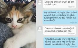 Vì một chú mèo, con gái thắc mắc rốt cuộc mình là con đẻ hay con nuôi của mẹ